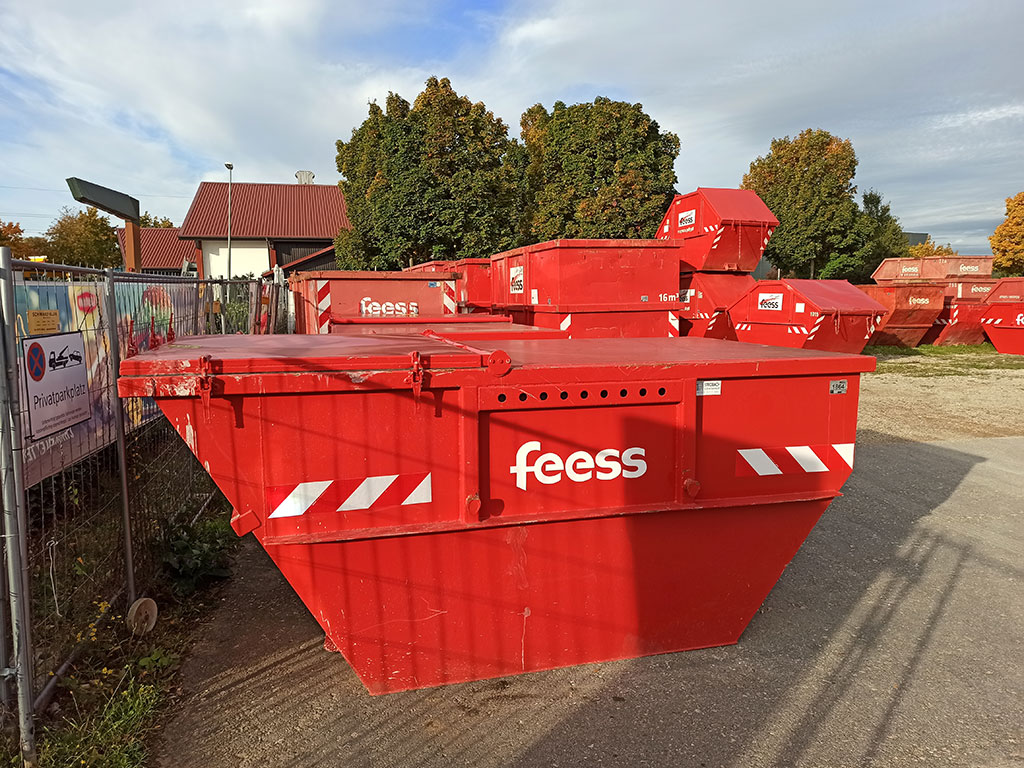 Feess Schlammcontainer